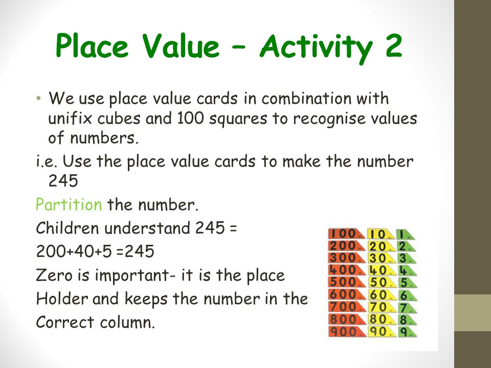 Working towards Formal Method – Subtraction (End of Year 3)