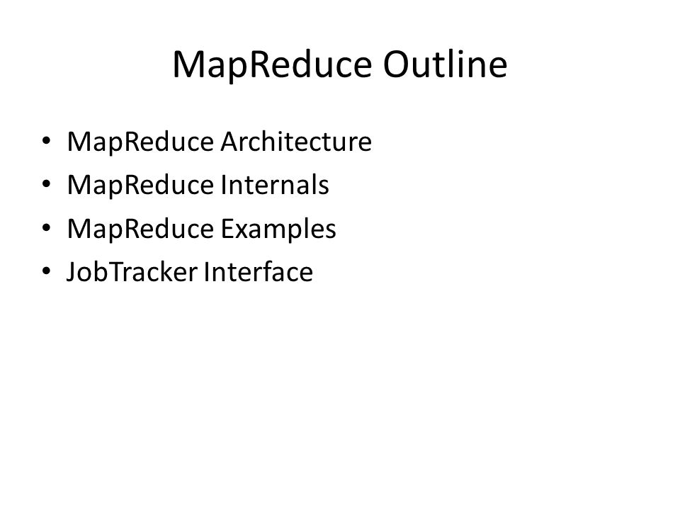 MapReduce: A Real World Analogy Coins Deposit