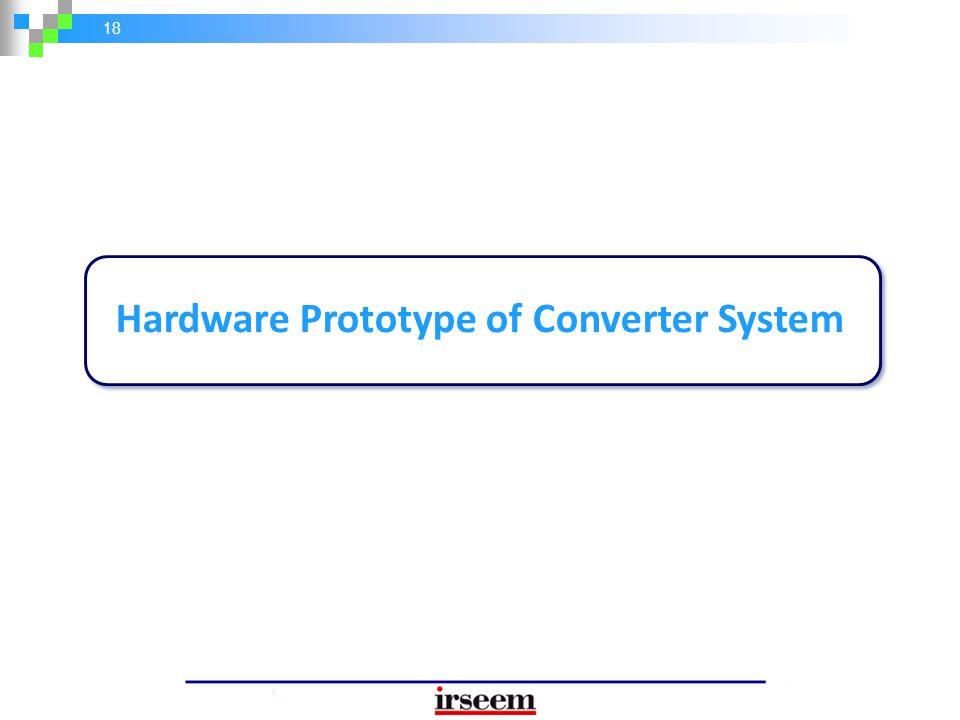 18 Hardware Prototype of Converter System