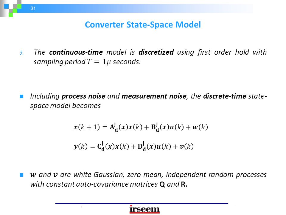 31 Converter State-Space Model