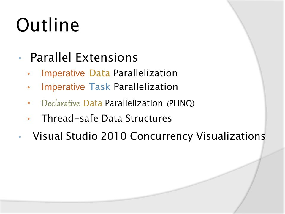 PLINQ ForAll codeSample();