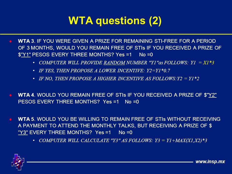 www.insp.mx WTA questions (2) l WTA 3.
