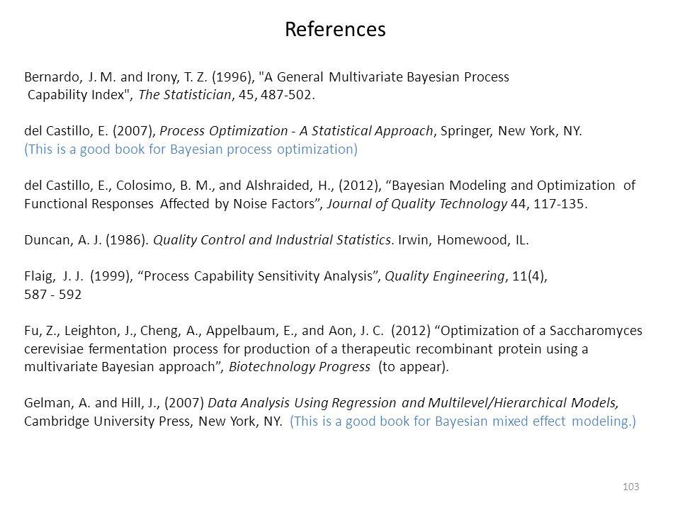 103 Bernardo, J. M. and Irony, T. Z. (1996),