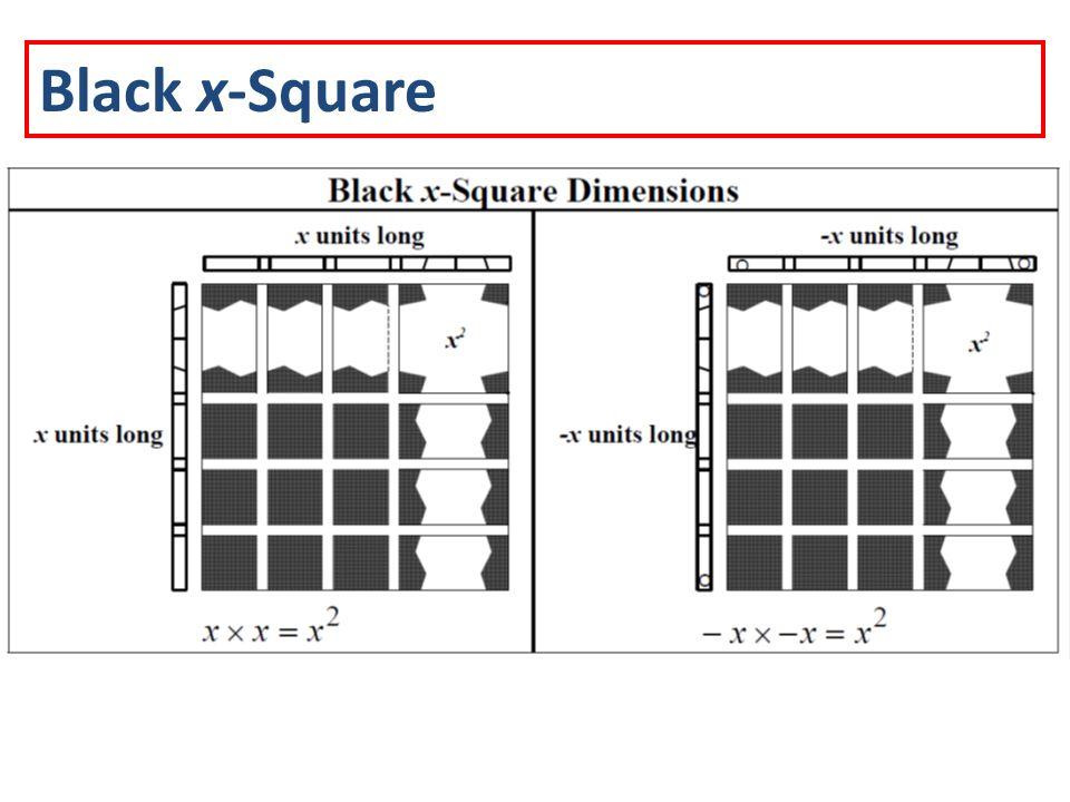 Black x-Square