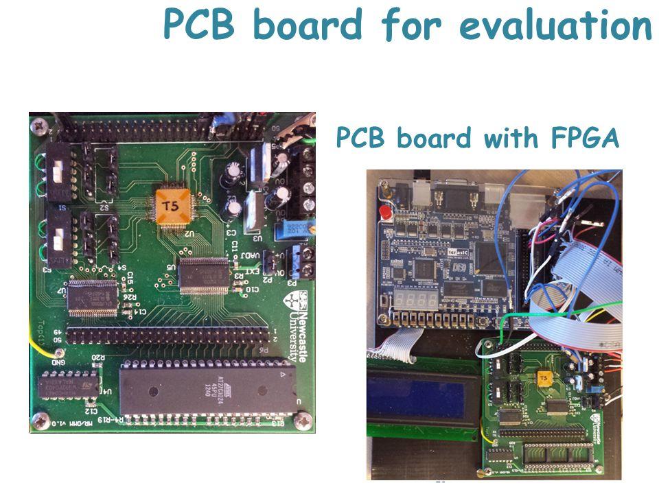 PCB board for evaluation 16 PCB board with FPGA