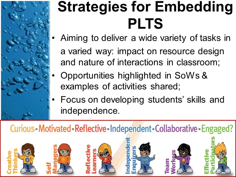 Strategies for Embedding PLTS Aiming to deliver a wide variety of tasks in a varied way: impact on resource design and nature of interactions in class