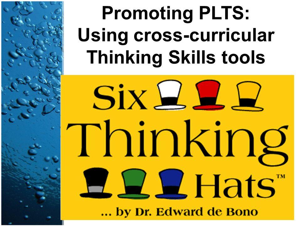 Promoting PLTS: Using cross-curricular Thinking Skills tools