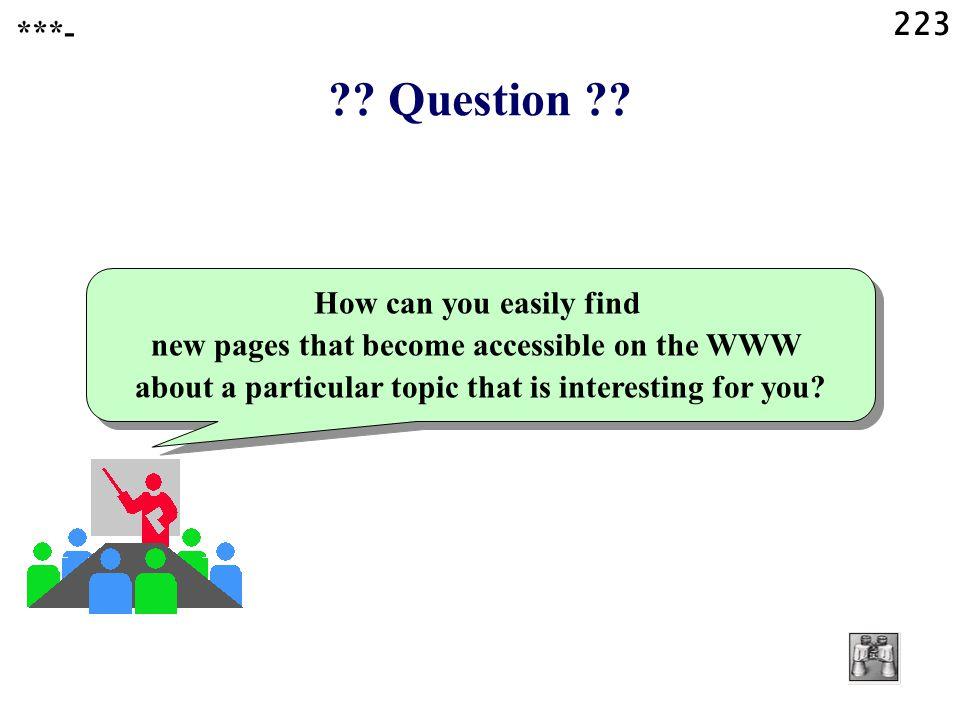223 . Question .