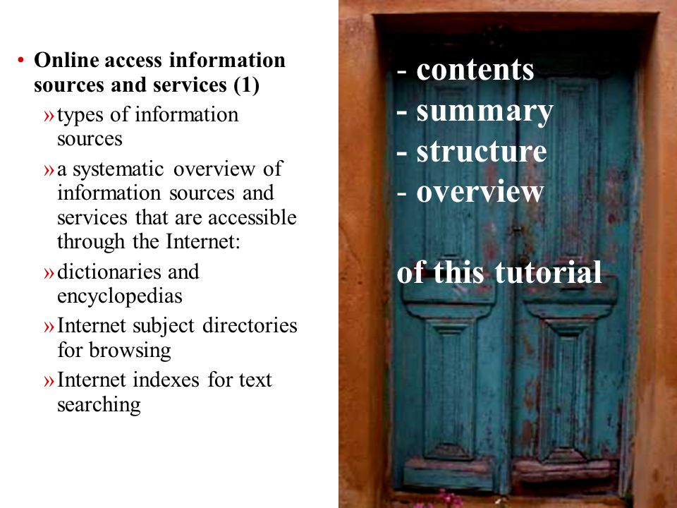 305 Online access information sources and services Finding multimedia files on the Internet ****