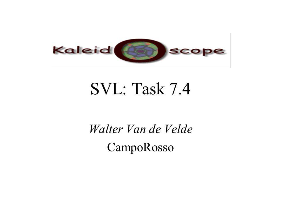 SVL: Task 7.4 Walter Van de Velde CampoRosso
