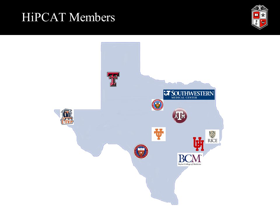 TIGRE Project Texas Internet Grid for Research and Education  Created as a HiPCAT project  Primary goal is to design and deploy a grid computing infrastructure that integrates computing, storage, visualization labs, displays, sensors, and instrumentation across Texas  Primary Members:  Provides support for other schools, organizations and enterprises  TIGRE is a Grid construction project to provide a mechanism for Institutional collaborations