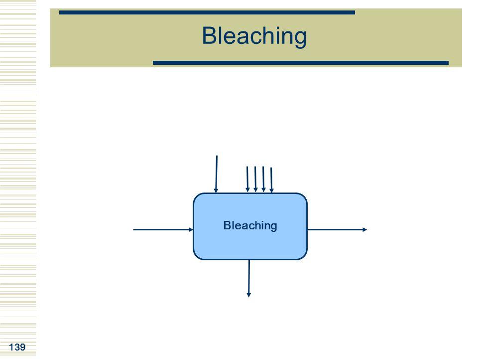 139 Bleaching