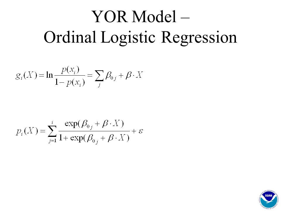 YOR Model – Ordinal Logistic Regression