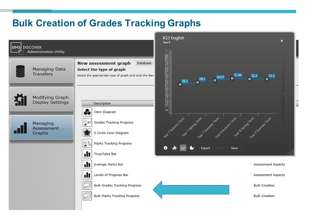 Bulk Creation of Grades Tracking Graphs