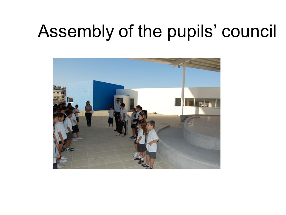 Assembly of the pupils' council