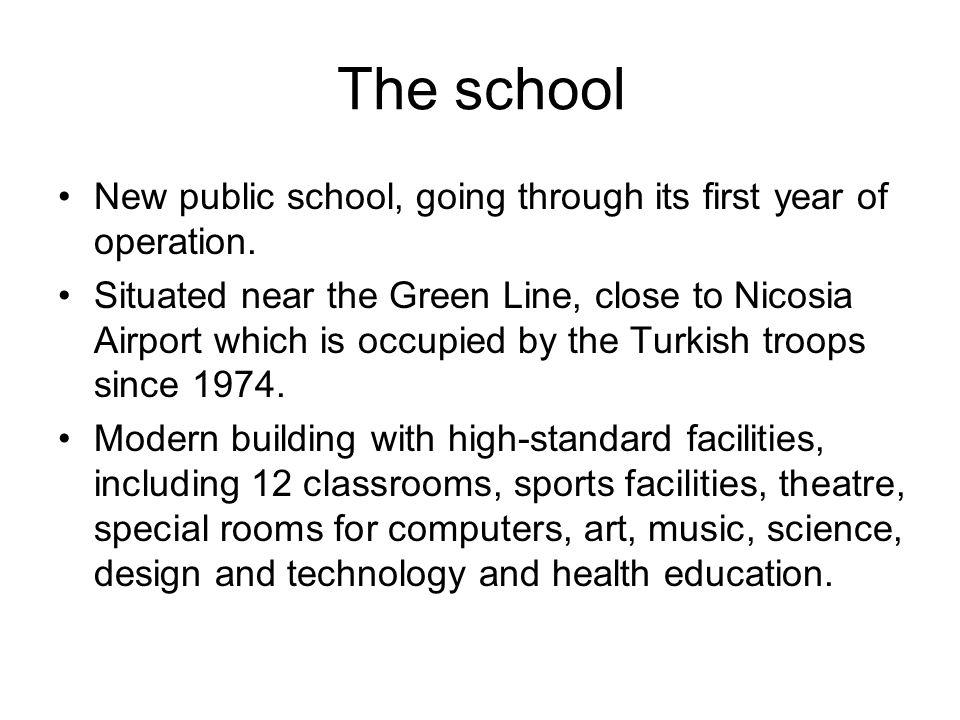 Staff and pupils 18 teachers 195 pupils aged 6-12 years Classes: – 3 Y1 – 1 Y2 – 2 Y3 – 2 Y4 – 1 Y5 – 1 Y6