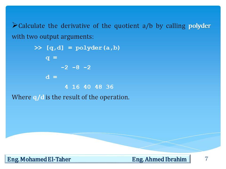 8 Eng.Mohamed El-Taher Eng.