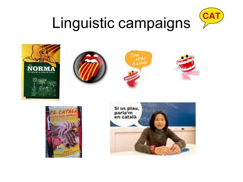Linguistic campaigns