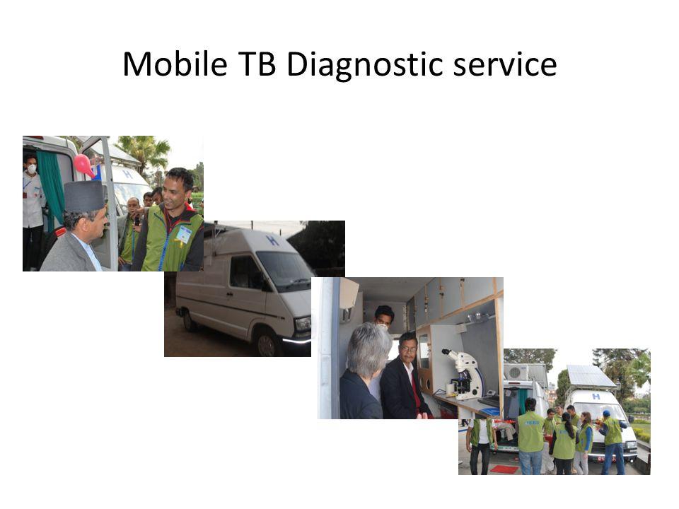 Mobile TB Diagnostic service