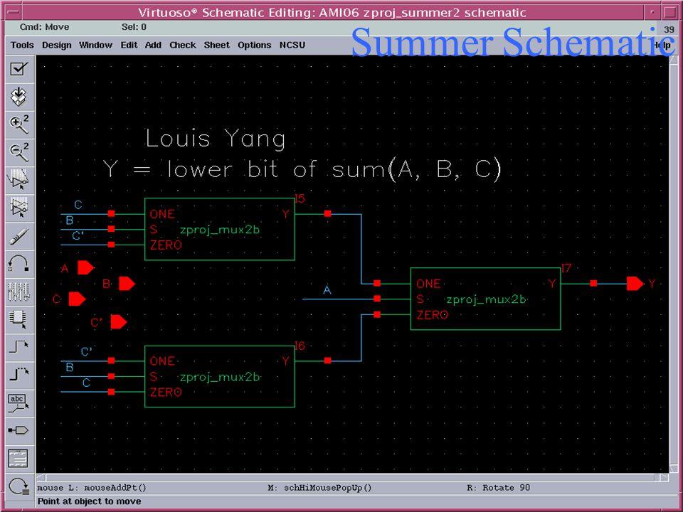 Summer Schematic