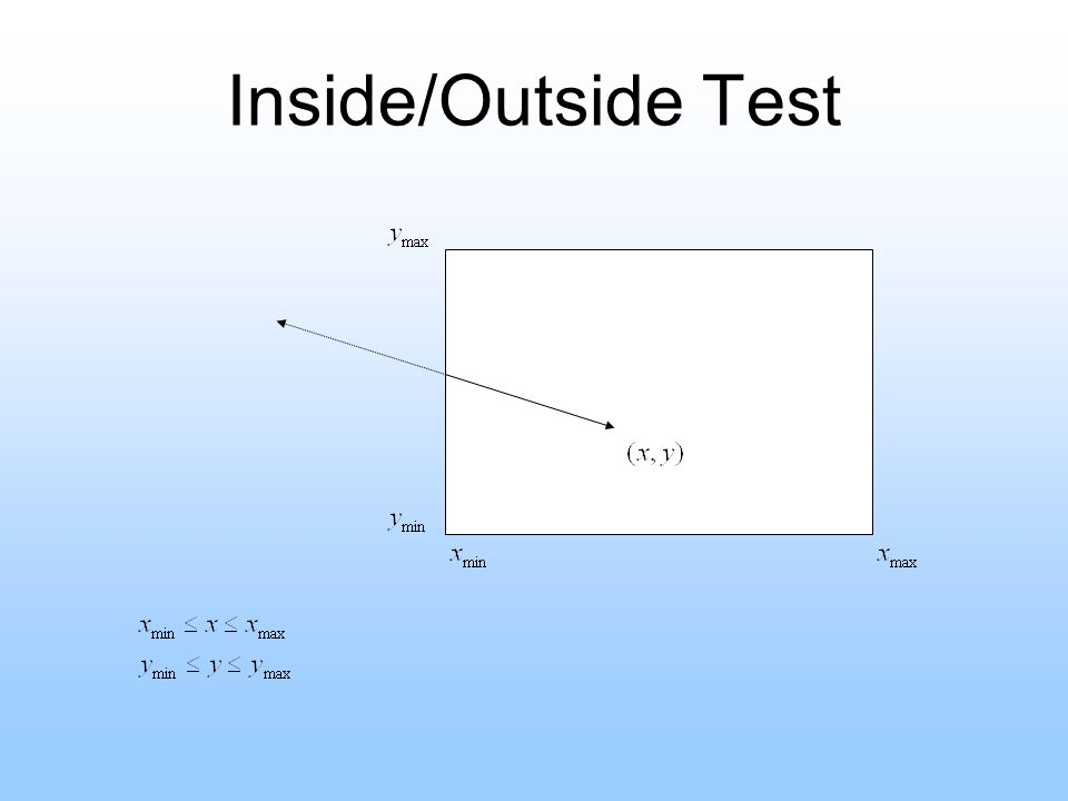 Inside/Outside Test