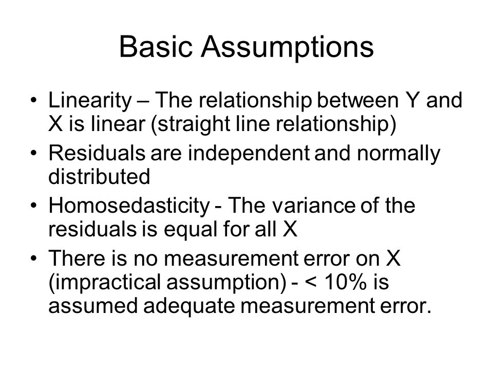Simple regression model Regression equation and line represent the simple linear equation and describe the shape of the relationship between the varia