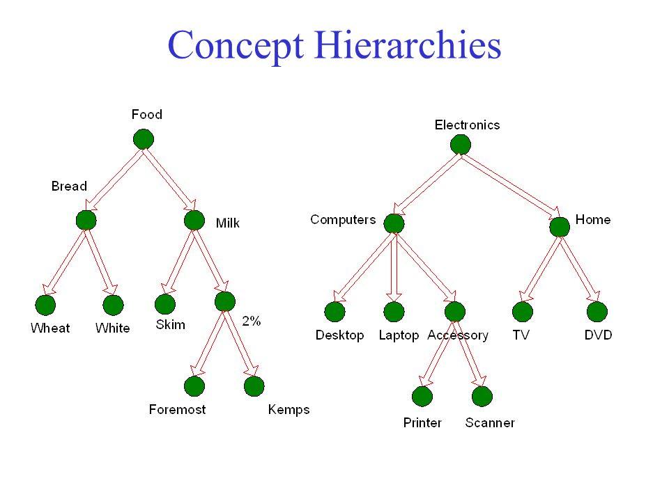 Concept Hierarchies