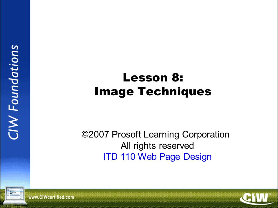 Copyright © 2004 ProsoftTraining, All Rights Reserved.