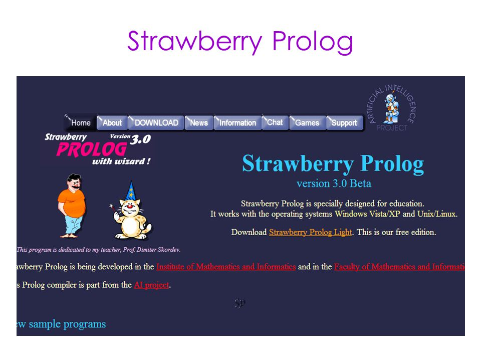 Strawberry Prolog