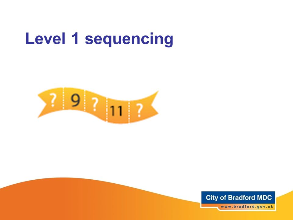 Level 1 sequencing