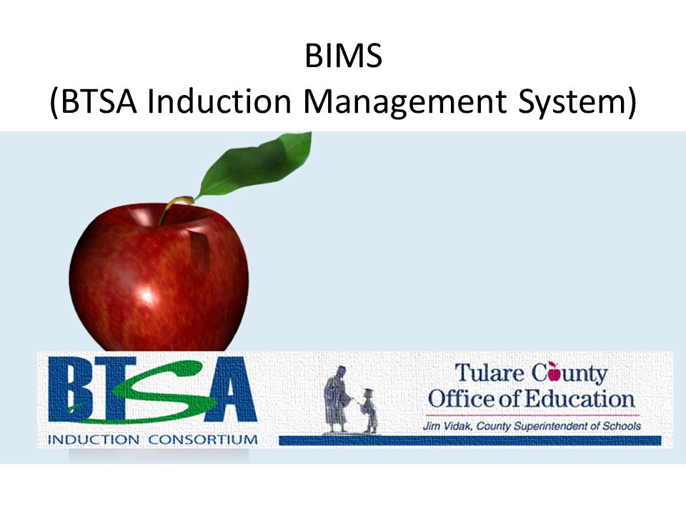 BIMS (BTSA Induction Management System)