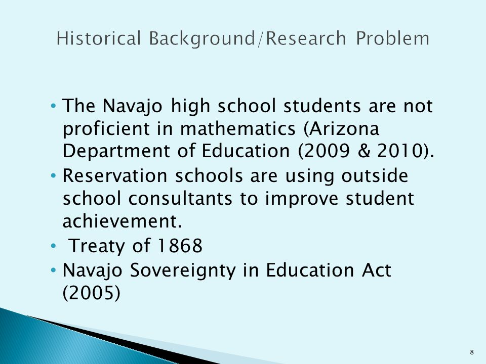 Narration - One participant indicated that cultural narration was missing from his previous math class.