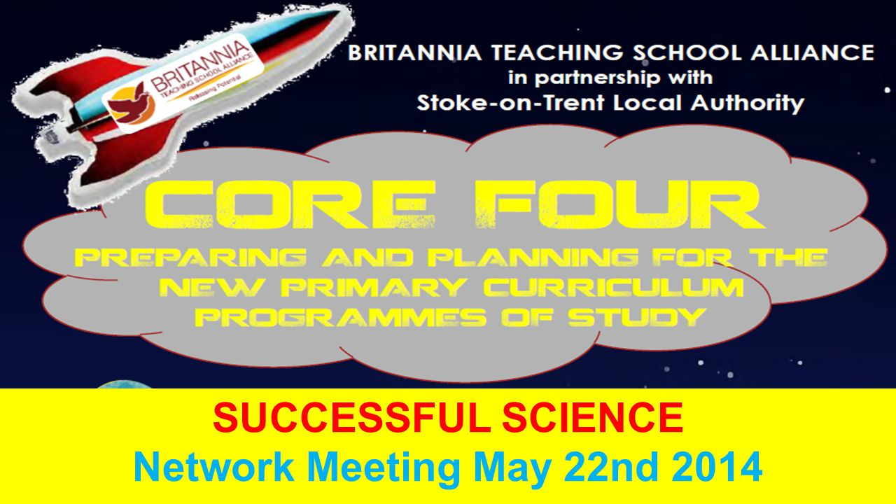 SUCCESSFUL SCIENCE Network Meeting May 22nd 2014