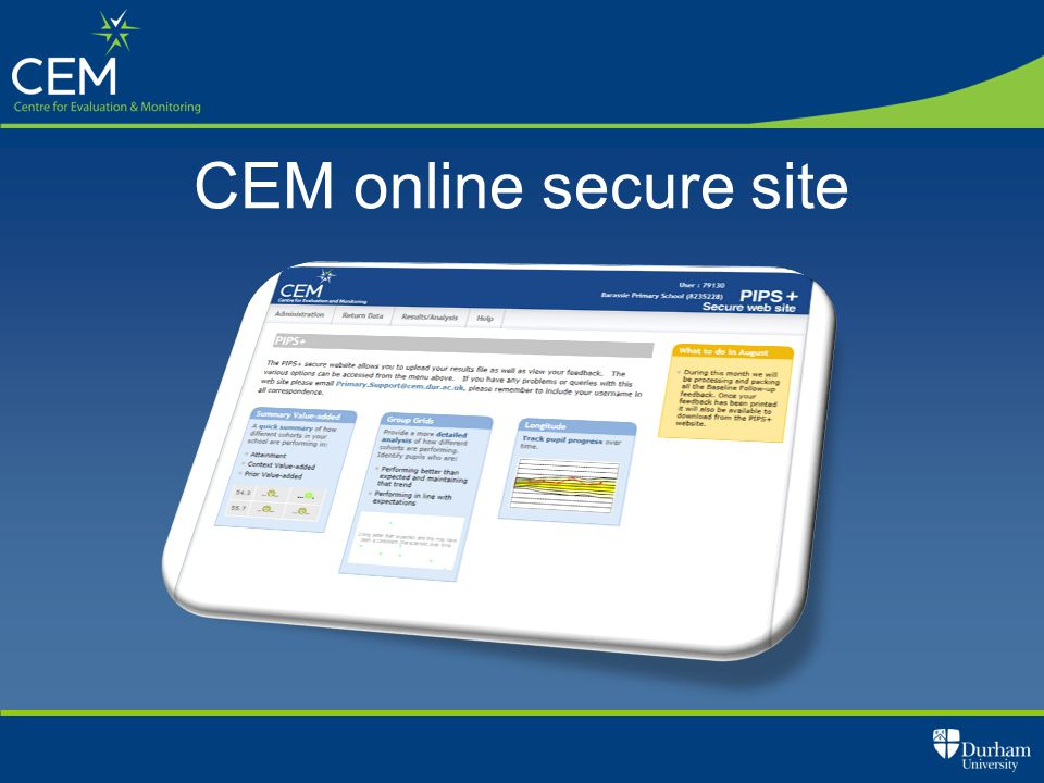 CEM online secure site