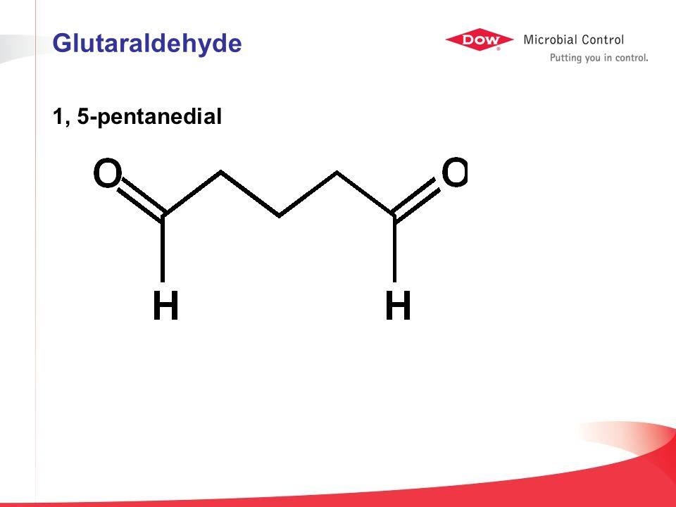 1, 5-pentanedial Glutaraldehyde