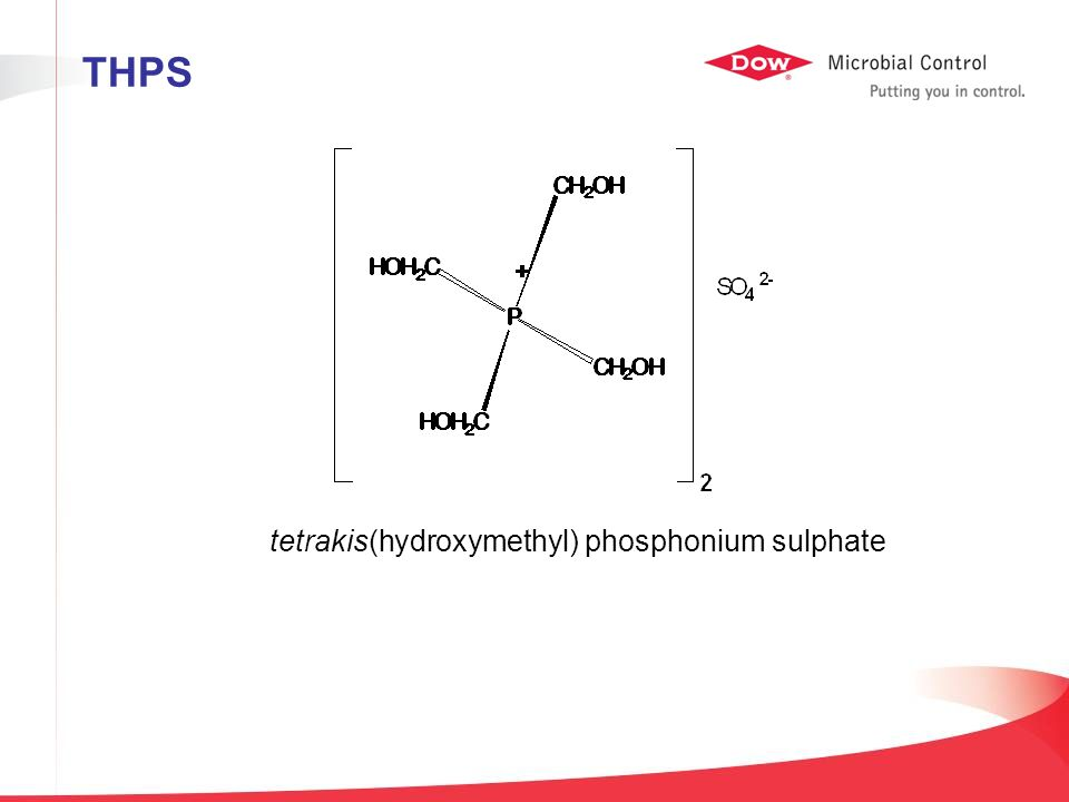 THPS tetrakis(hydroxymethyl) phosphonium sulphate