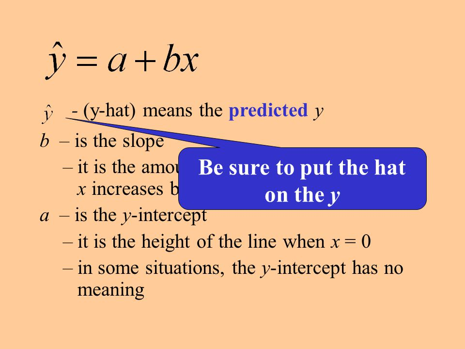 Least Squares Regression Line LSRL bestThe line that gives the best fit to the data set minimizesThe line that minimizes the sum of the squares of the deviations from the line