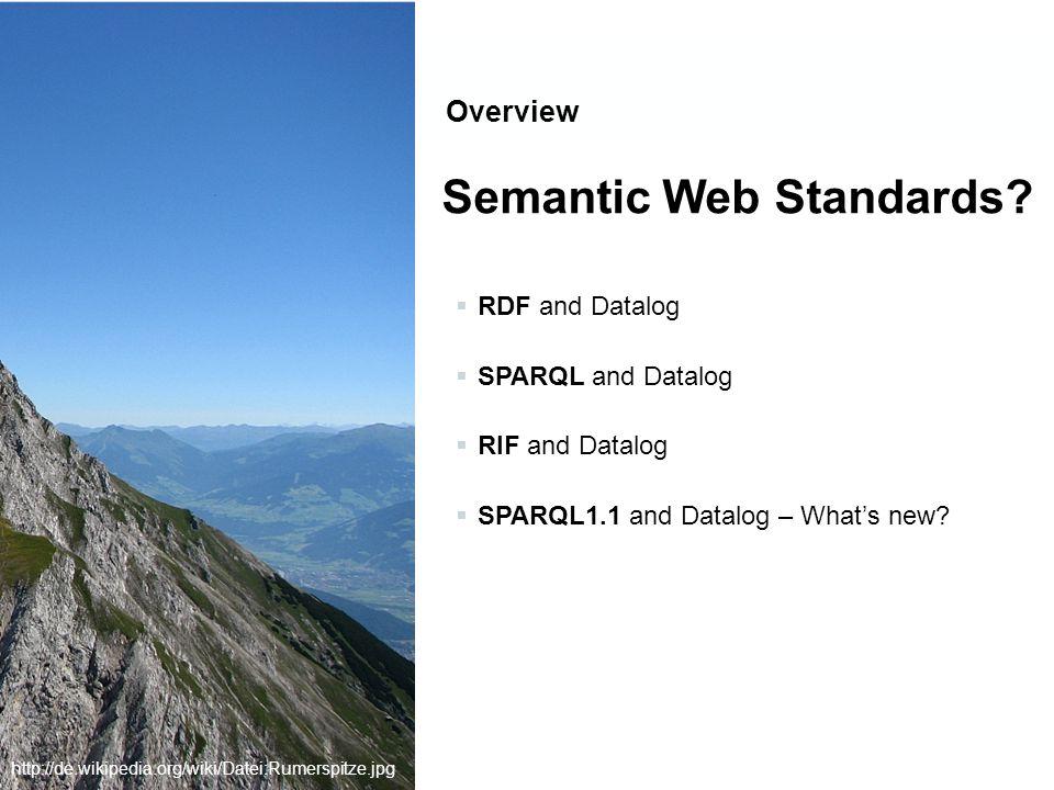 Semantics full as per [Perez et al.2006] eval(BGP,G) … see Definition 1 eval(P1.