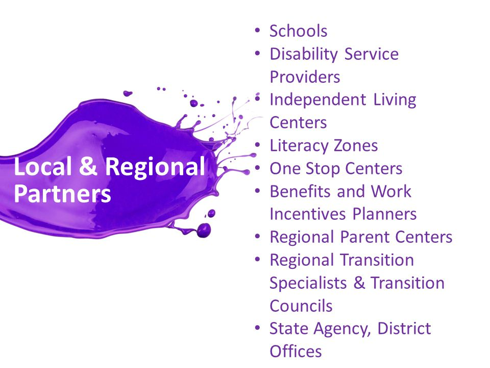 Primary Outcomes Student and Parent Level- Improved educational outcomes Improved employment outcomes Improved economic outcomes System Level- Increase in person-centered, coordinated and developmentally appropriate transition to adulthood services for youth on SSI Increase in interagency collaboration and reduction in program and policy barriers for access to services