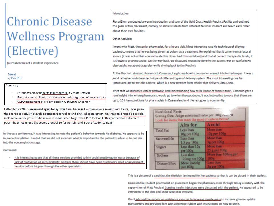Phase 3: Chronic Disease Wellness Program