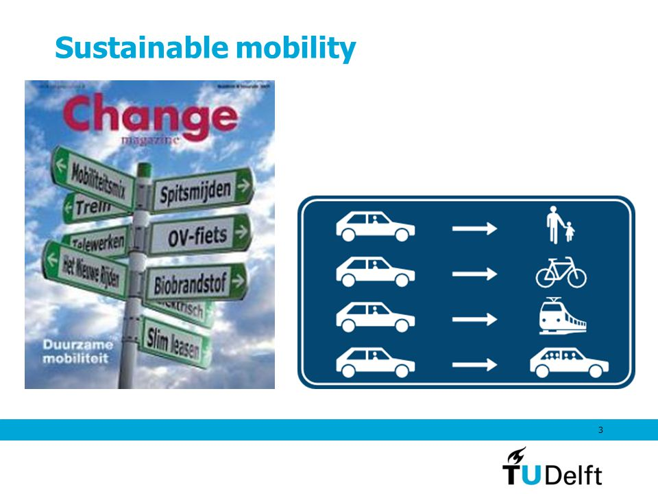 Sustainable mobility 3