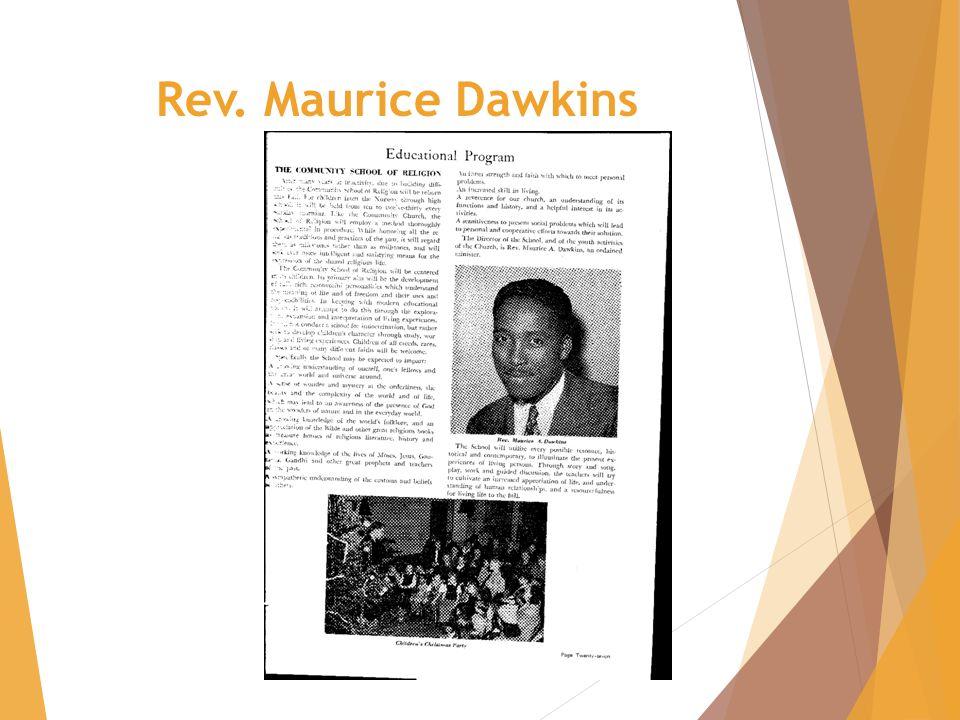 Rev. Maurice Dawkins