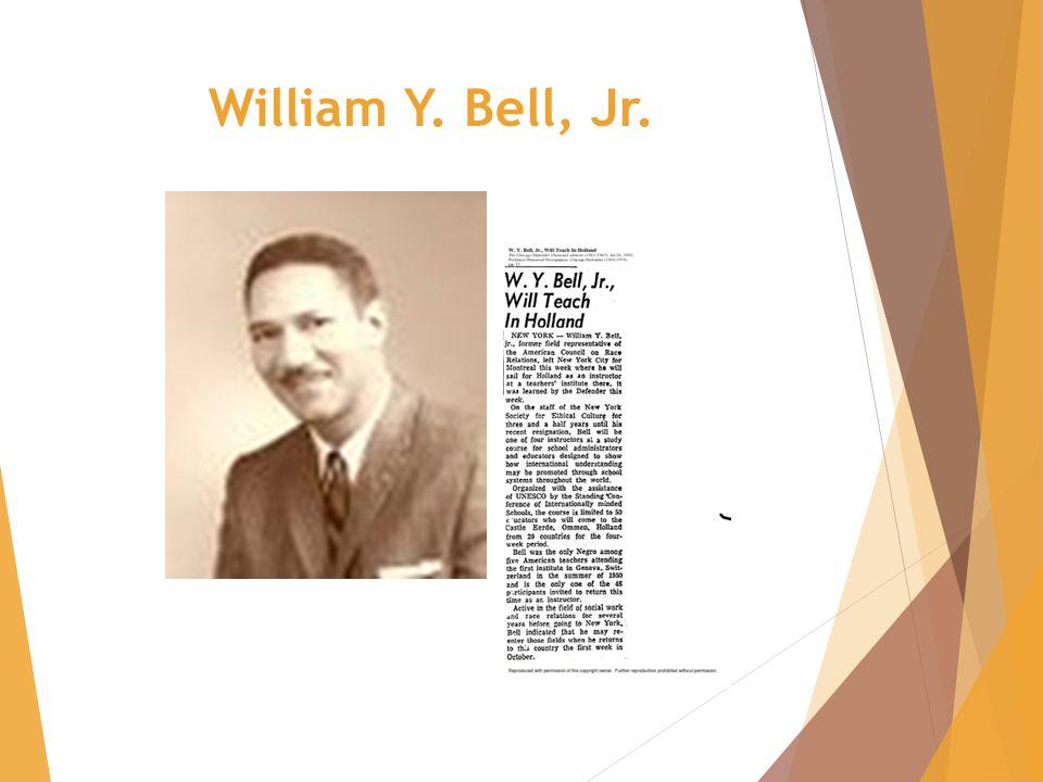 William Y. Bell, Jr.