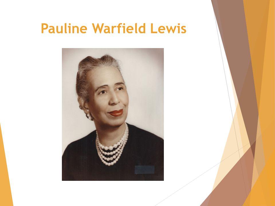 Pauline Warfield Lewis