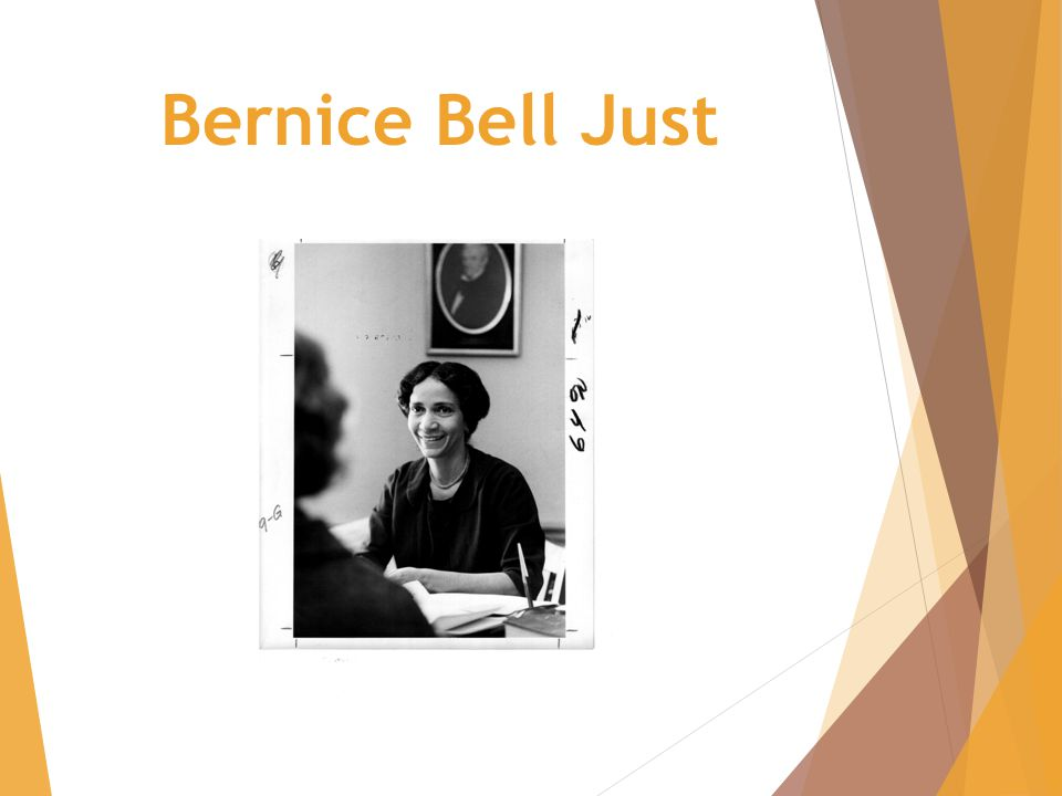 Bernice Bell Just