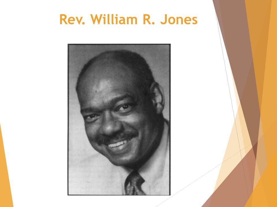 Rev. William R. Jones