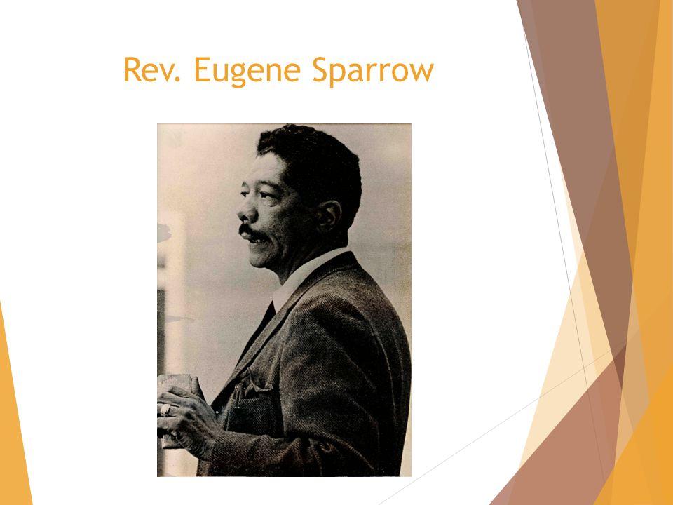 Rev. Eugene Sparrow