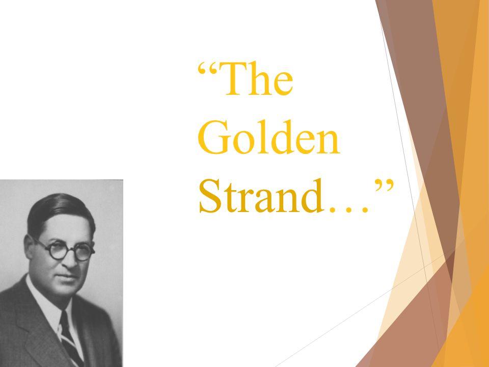 The Golden Strand…