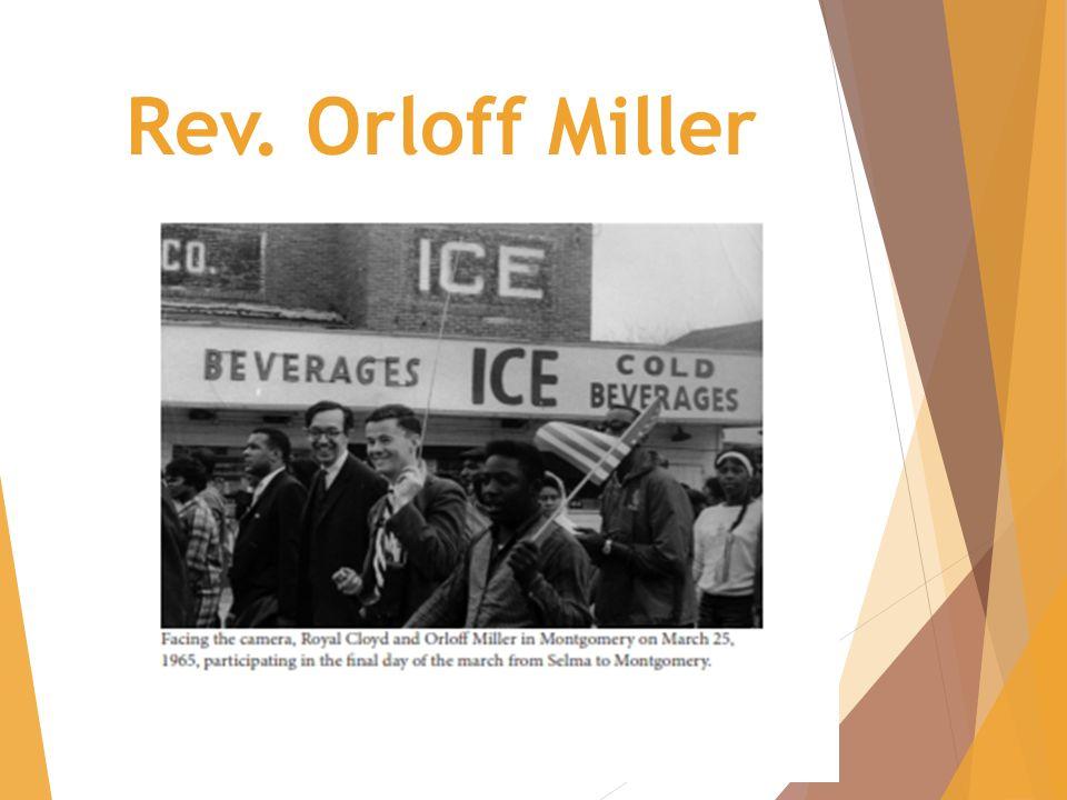 Rev. Orloff Miller