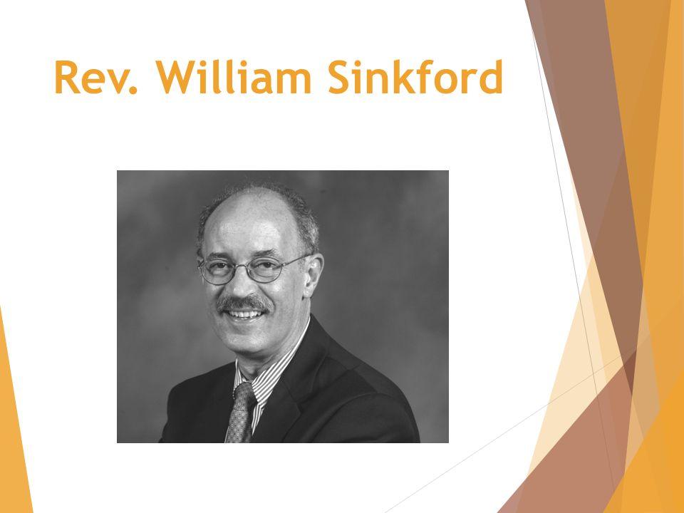 Rev. William Sinkford
